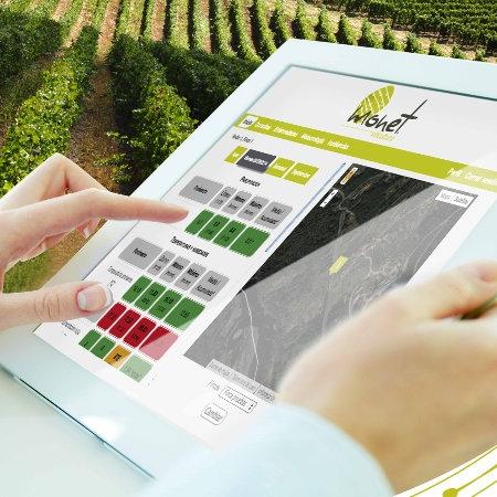 Plataforma web Monet Viticultura